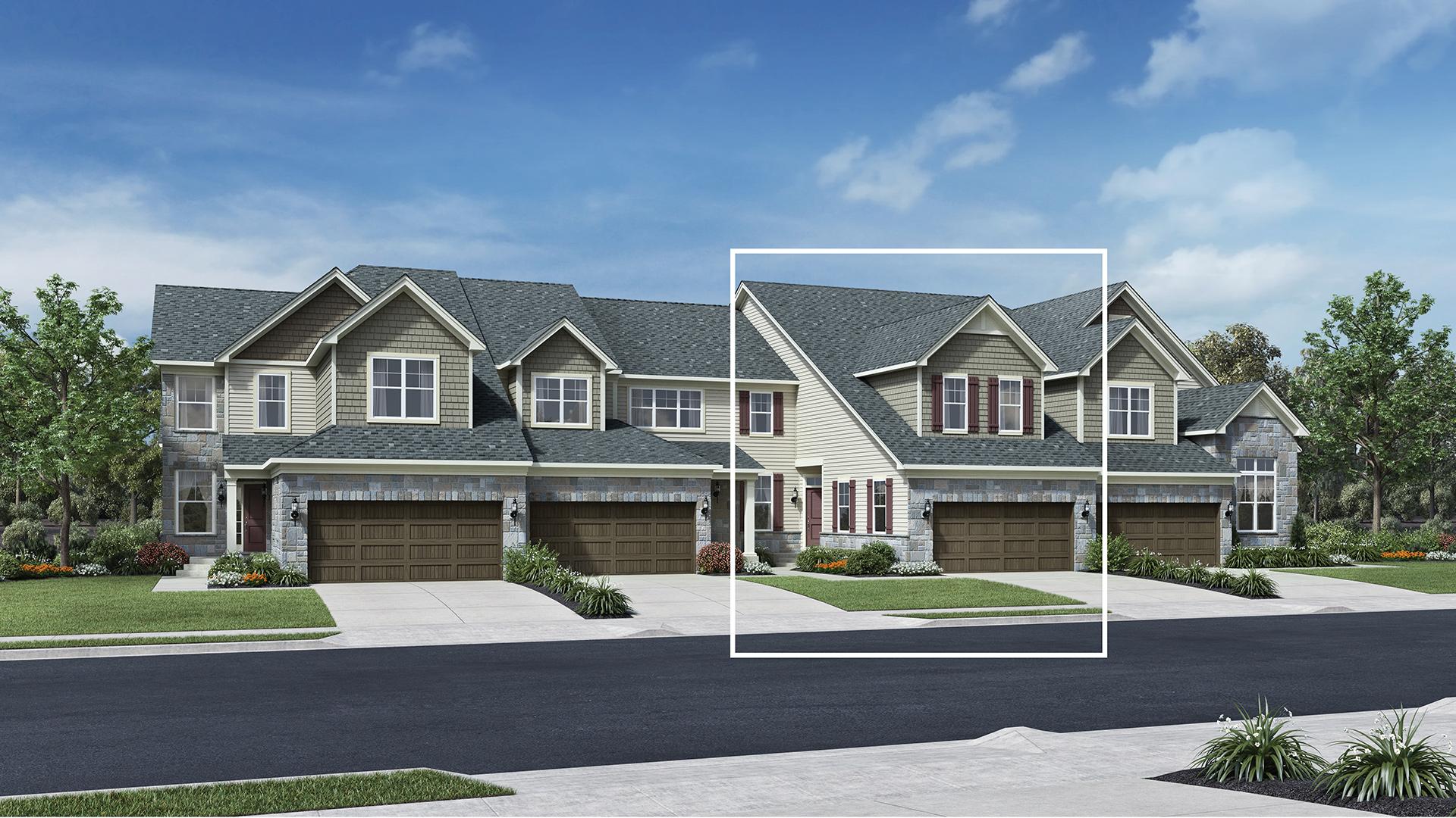 Ann Arbor Mi New Construction Homes North Oaks Of Ann