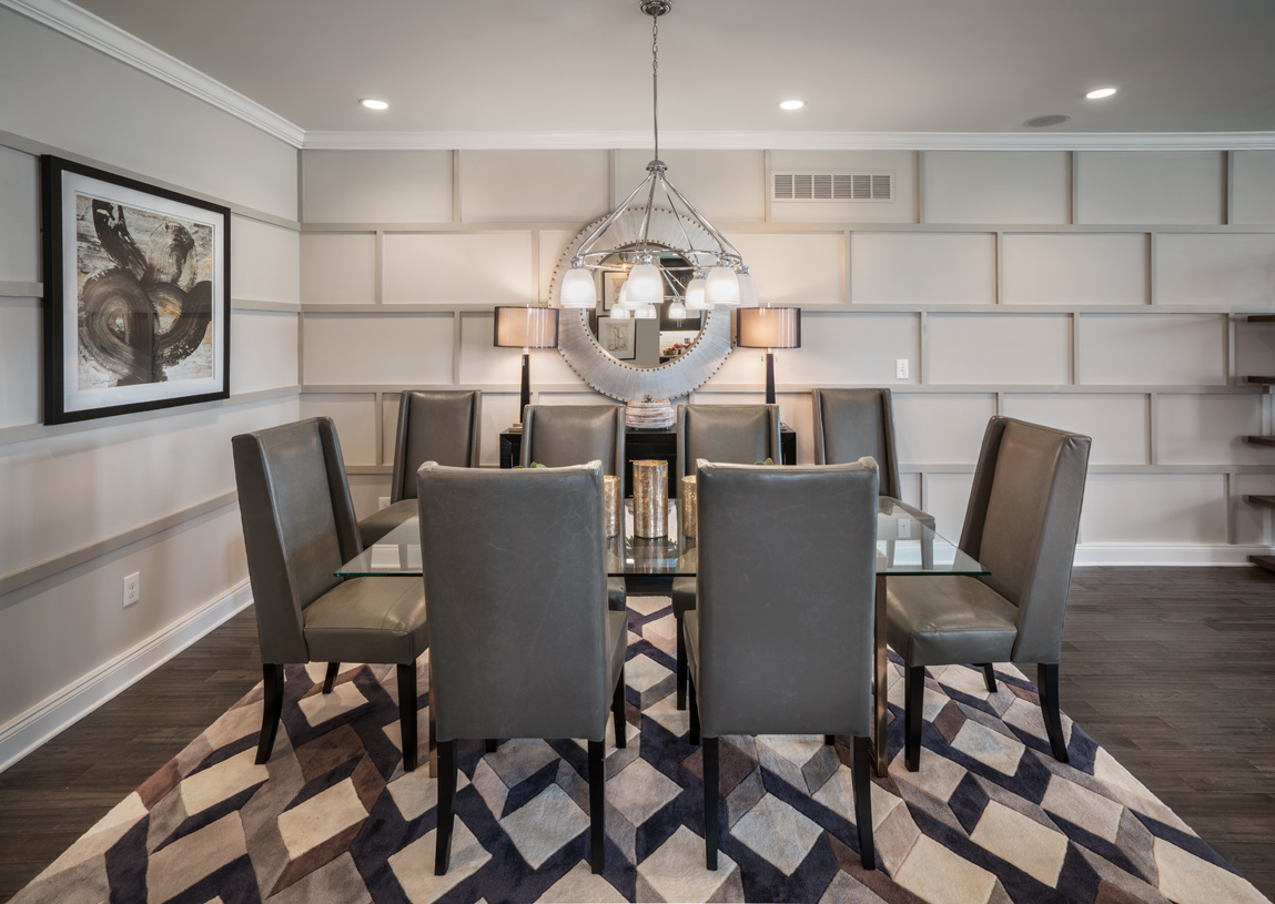 Formal dining room, perfect for entertaining