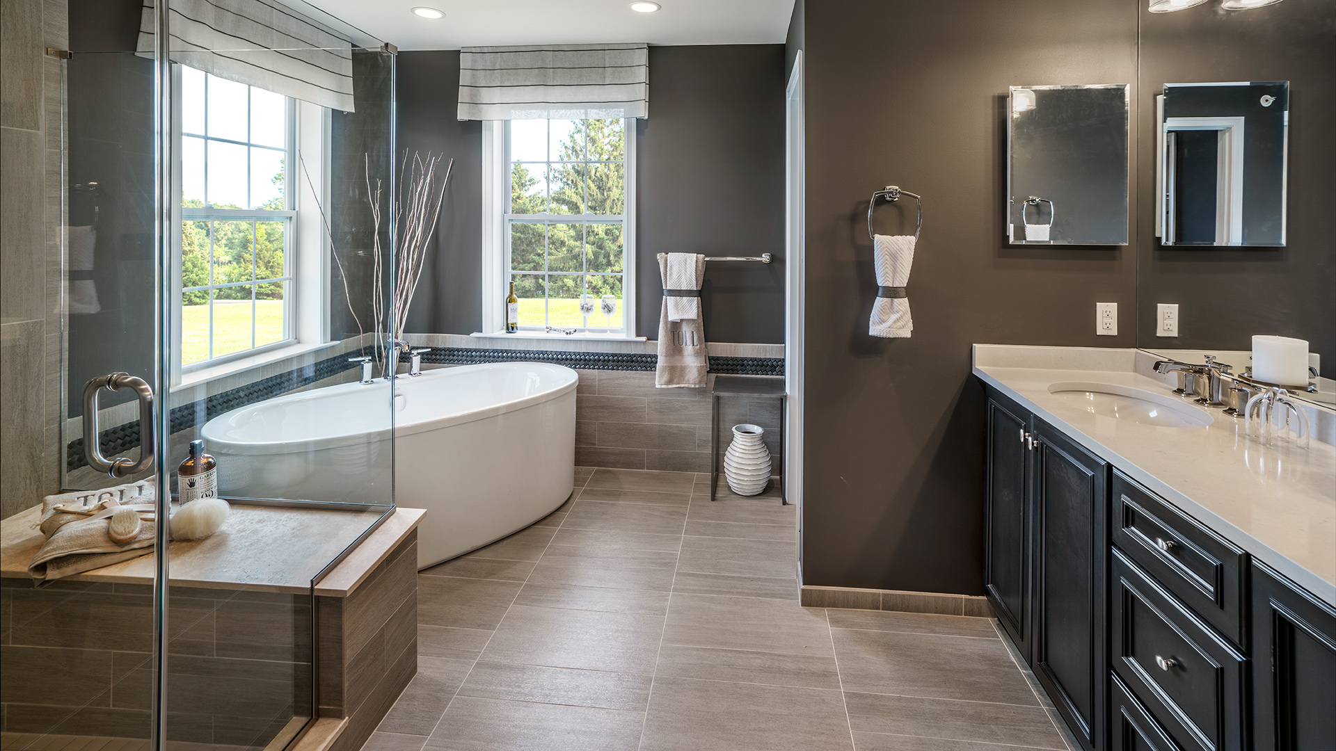 Bathroom Model Of The Delancy Home Design Available In Collegeville, PA
