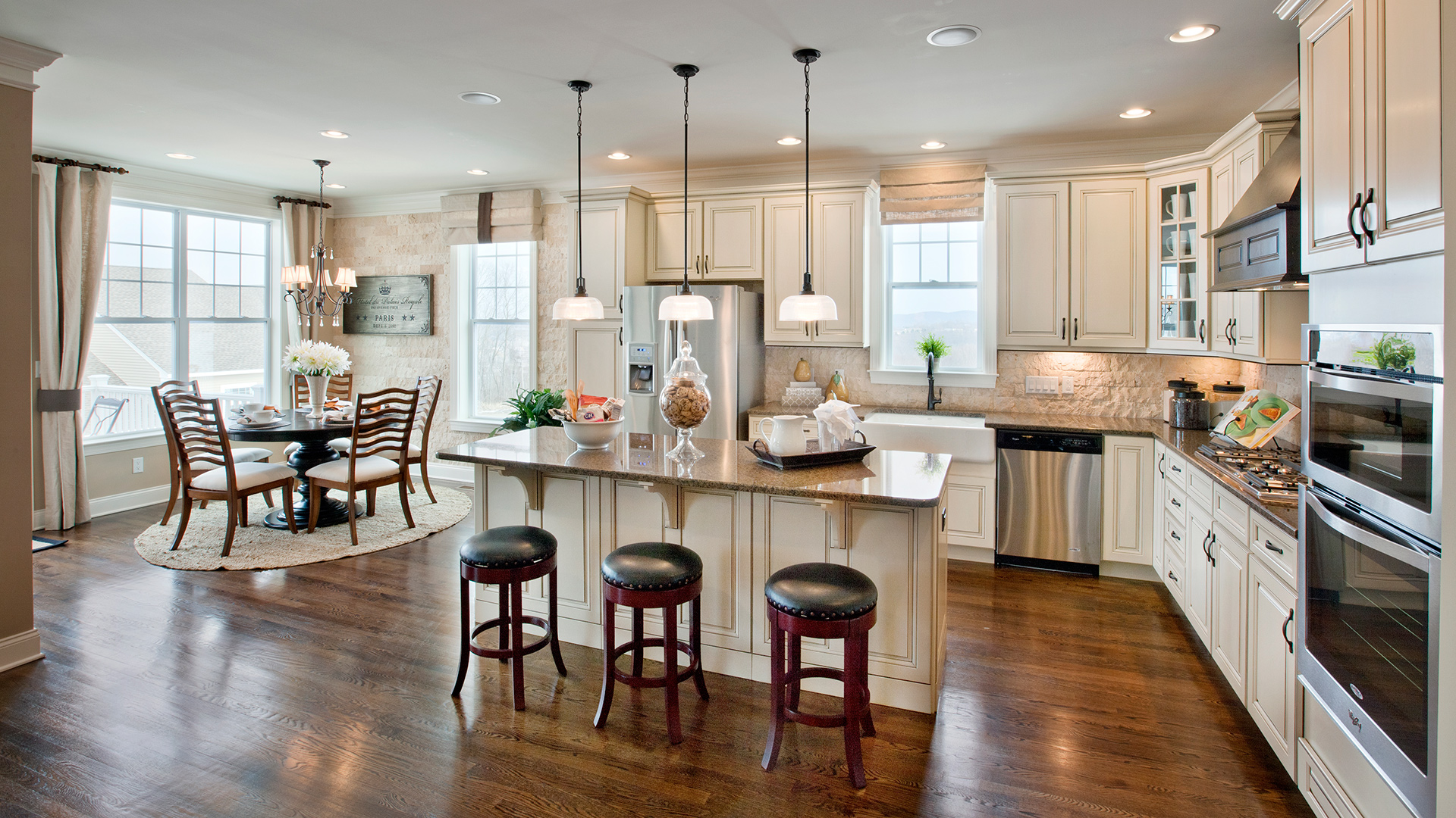 Kitchen cabinets danbury ct - Denton Rivington By Toll Brothers The Ridge Collection Danbury Ct
