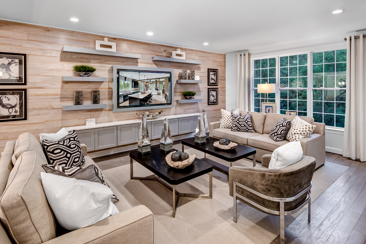 Standard great room perfect for movie nights