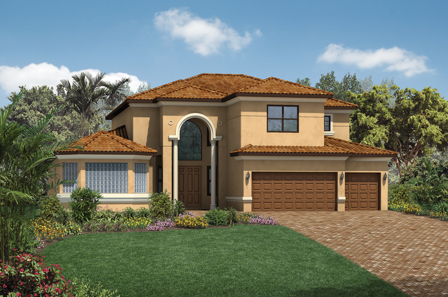 Bonita Lakes Estates Collection The Bolano Home Design