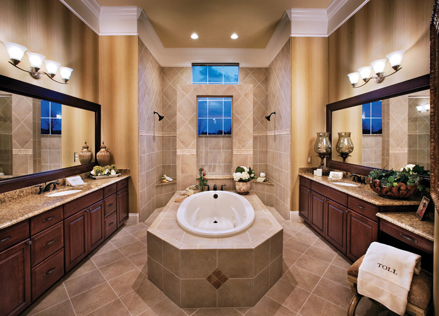 Coastal oaks at nocatee estate signature collections for House plans with walk through shower