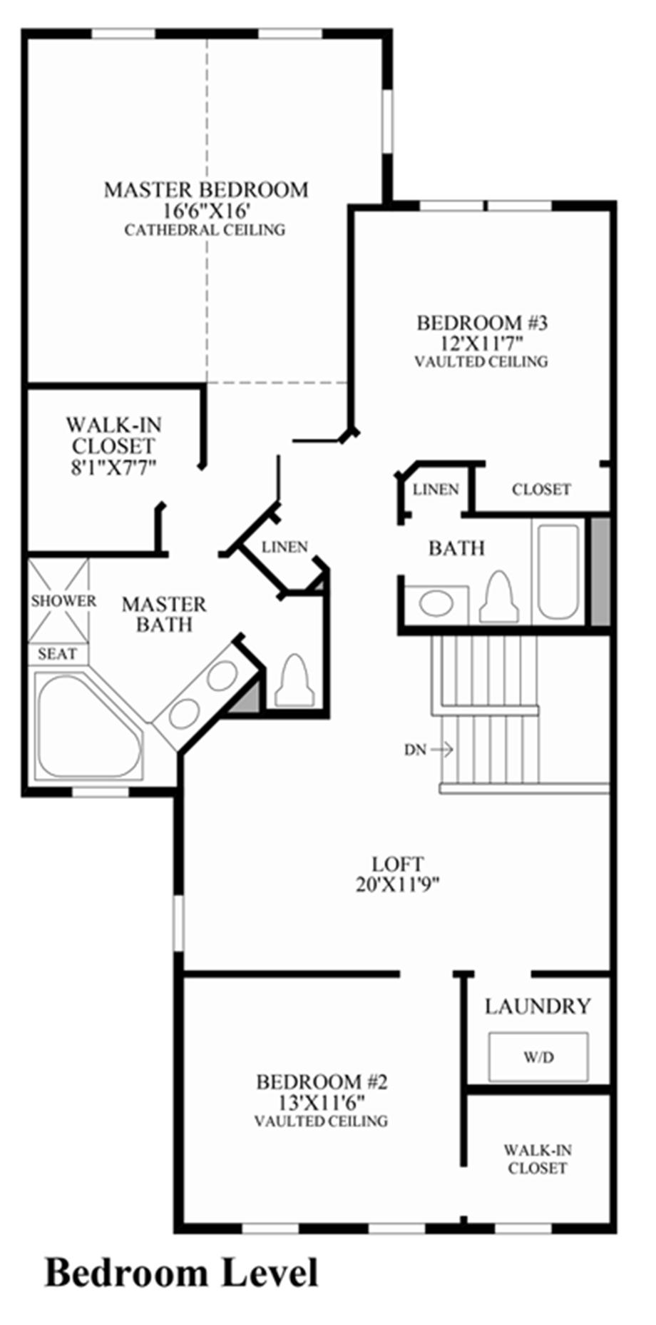 Bedroom level floor plan for Design your own bedroom floor plan