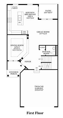 Dryden - 1st Floor