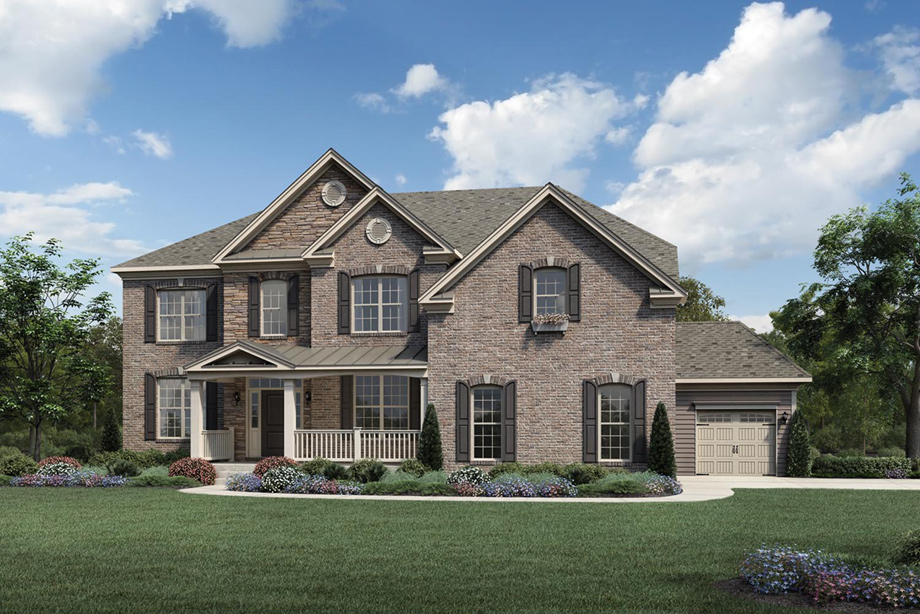 Toll Brothers At Falls At Weddington The Stallworth Home