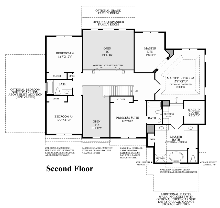 Loving This Open Concept By Tollbrothers: Montgomery Homes Floor Plans Carolina