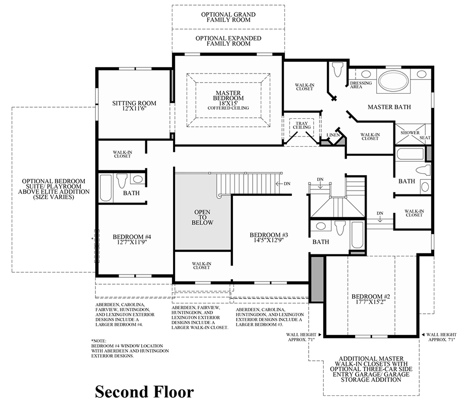 Dominion valley country club executives the duke home Dominion homes floor plans