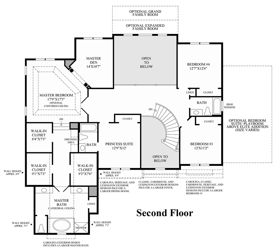Design Your Own Home Toll Brothers: The Duke Home Design