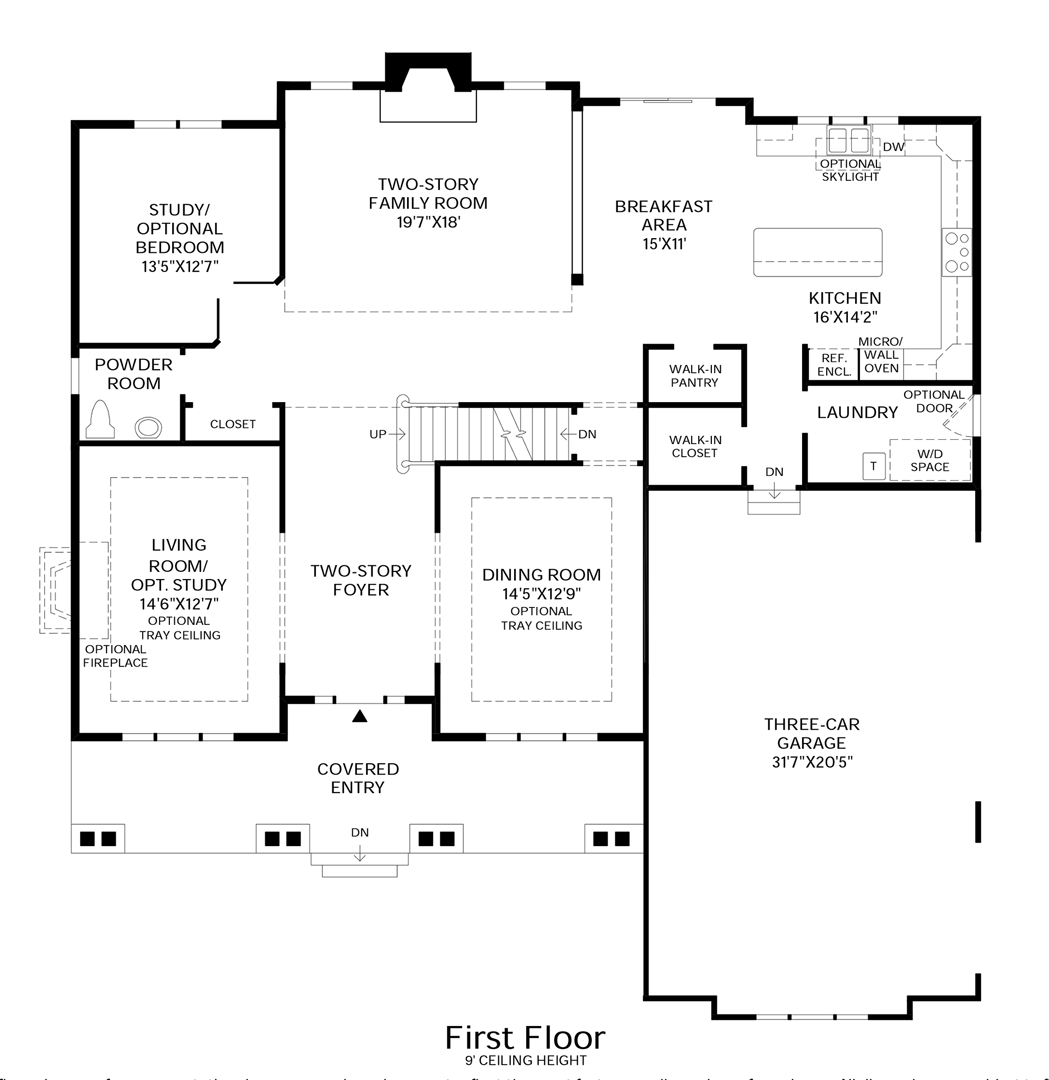 Westridge Estates Of Canton The Duke Home Design