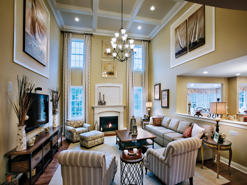 excellent toll brothers design your own home. Family Room Mountain View at Hunterdon Quick Delivery Home  Duke Lexington