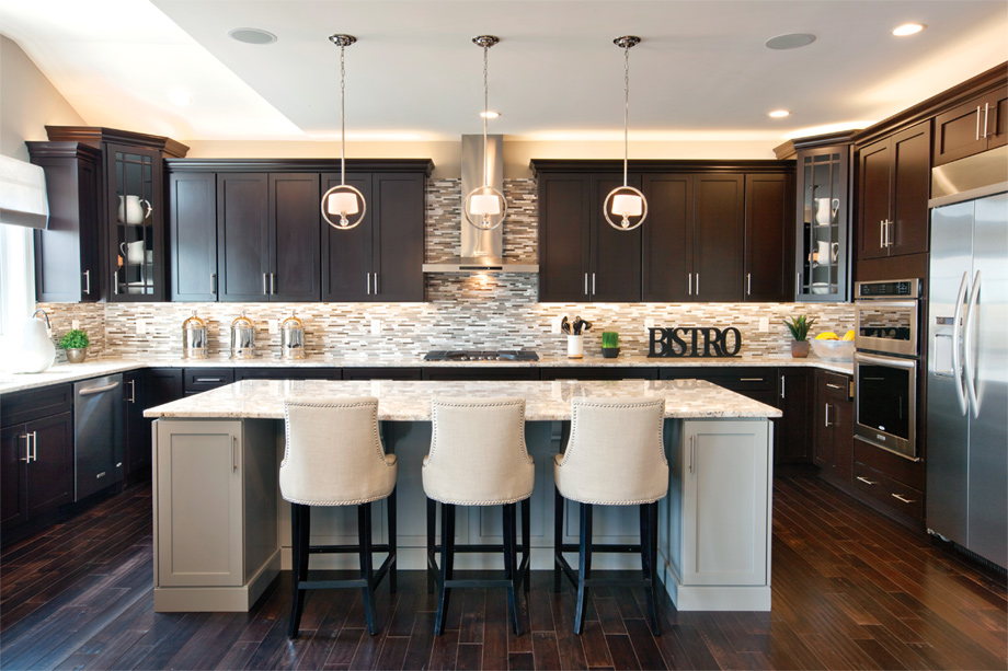 Enclave at Ridley Creek | The Duke Home Design on Model Kitchens  id=95799