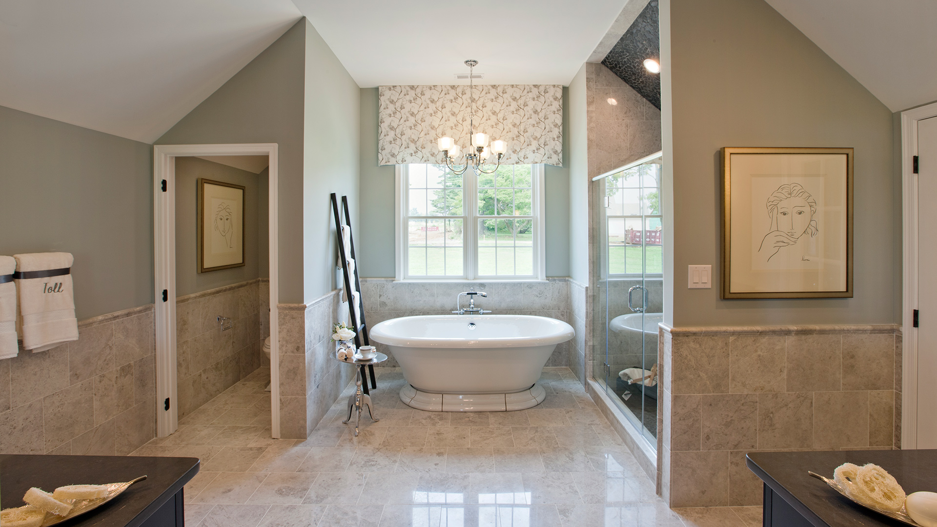 Bathroom Model Of The Duke Home Design Available In Newtown Square, PA