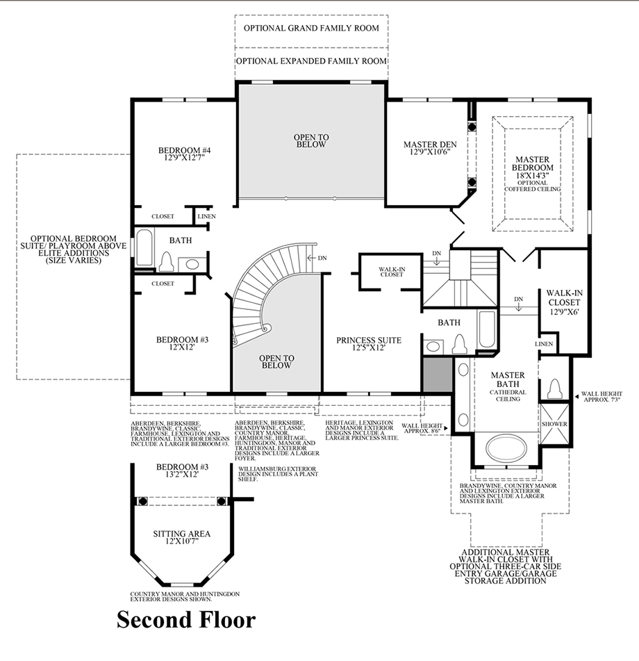 100 Second Floor Addition Floor Plans Floor Plans