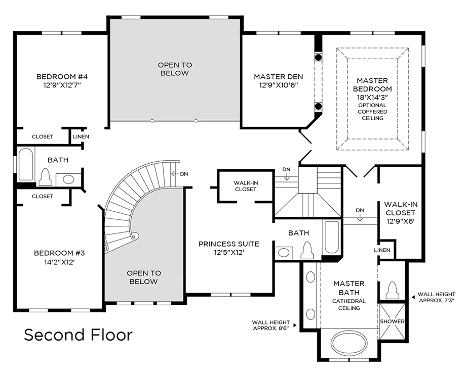 Toll Brothers Carlsbad Floor Plan: Toll Brothers At Weddington - Signature Collection