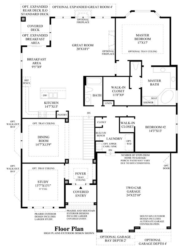 Dunraven - Floor Plan
