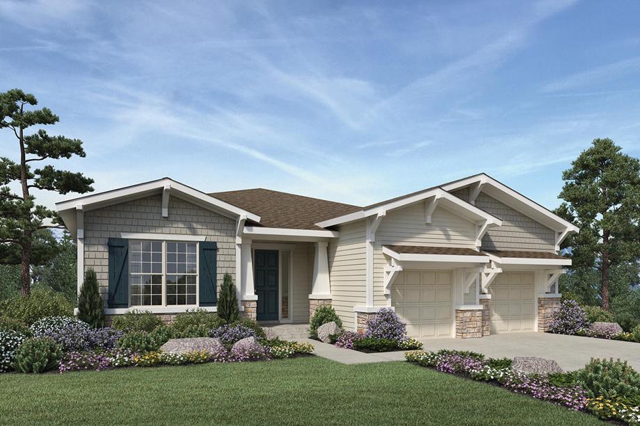 New Patio Homes In Parker Colorado