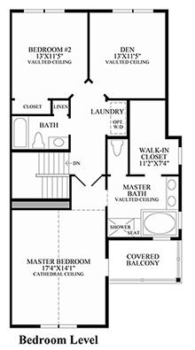 Eastbrook - Bedroom Level