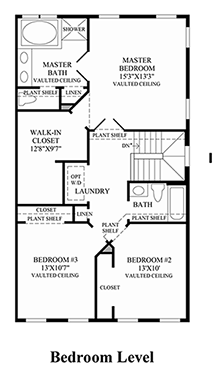 Easton - Bedroom Level