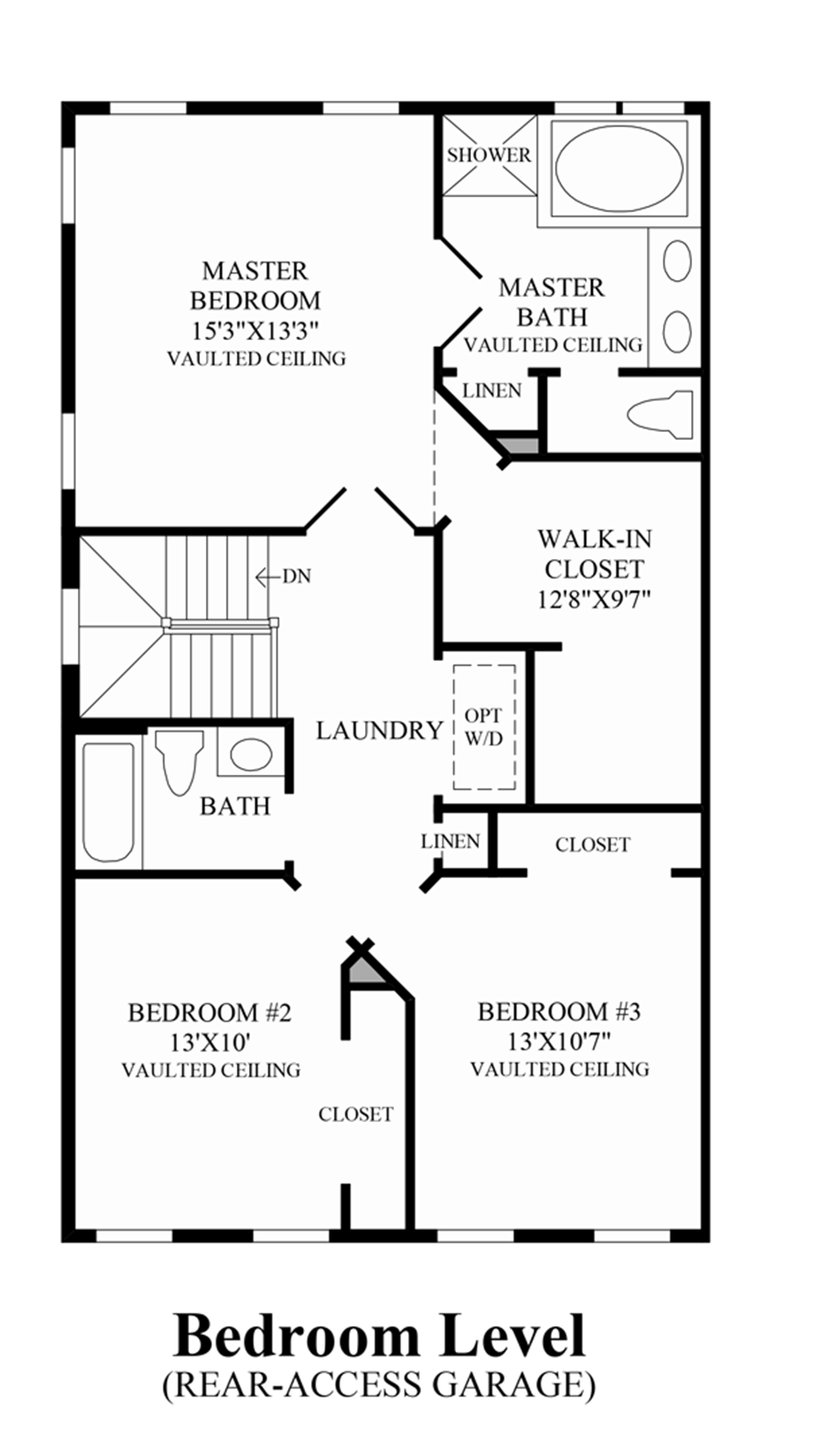Ravenscliff at media townhomes the easton home design for Design your own bedroom floor plan
