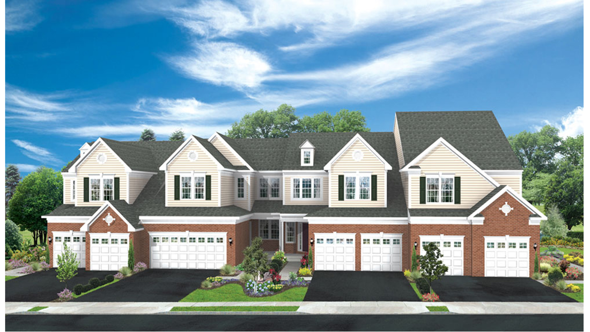 Bowes creek country club the townhome collection the for The country house collection