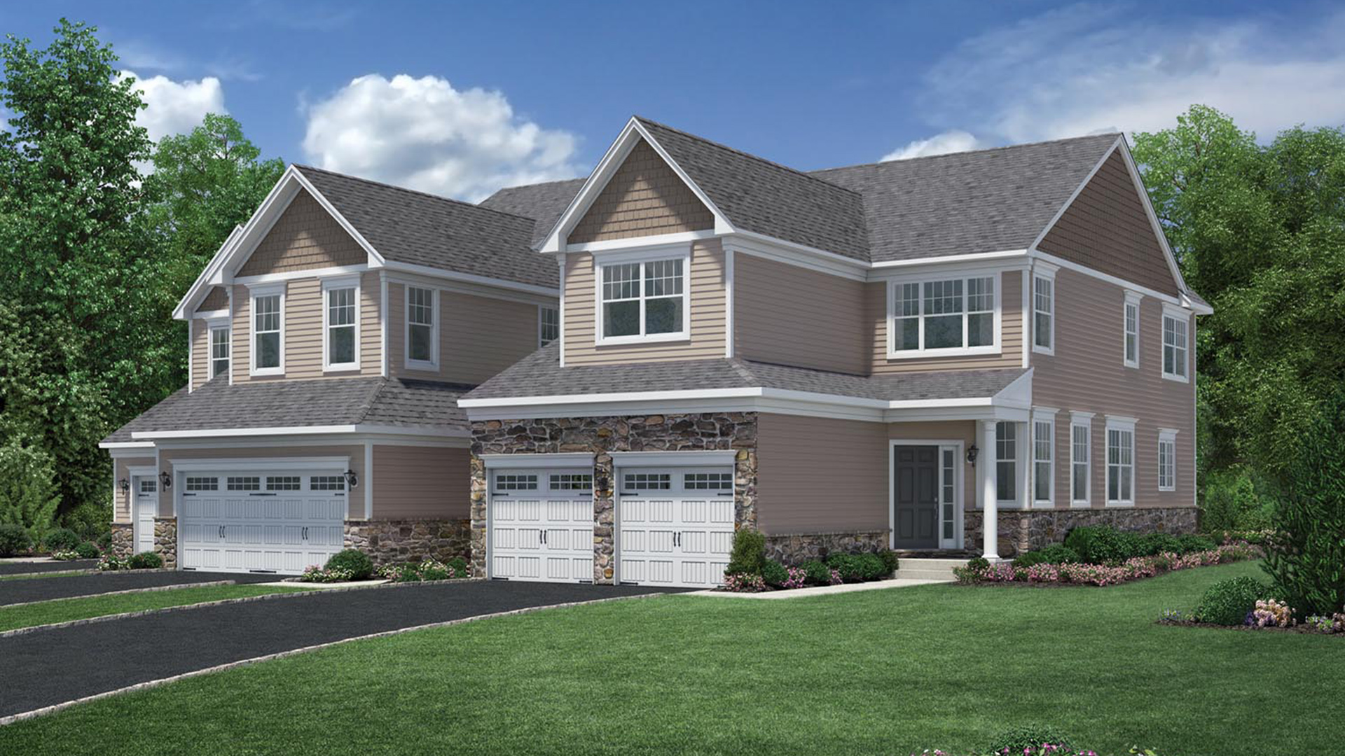 Rivington by toll brothers the ridge collection the for Elite home designs