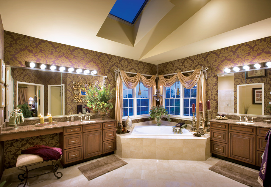 Weatherstone of avon the columbia ii home design for Bathroom design kenya
