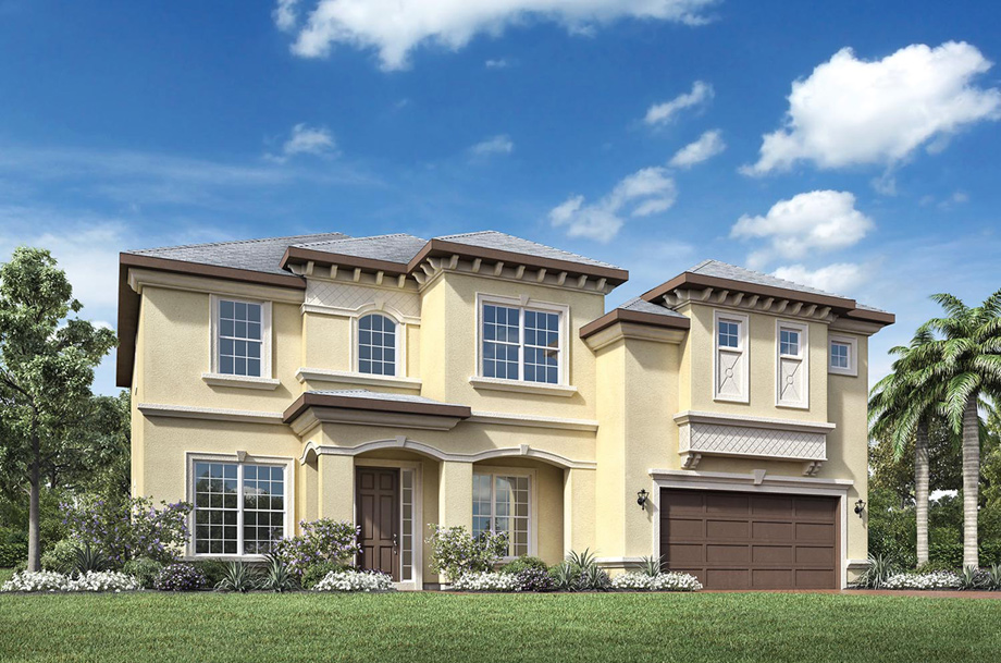 Coastal oaks at nocatee ambassador collection the for Spanish style homes for sale near me