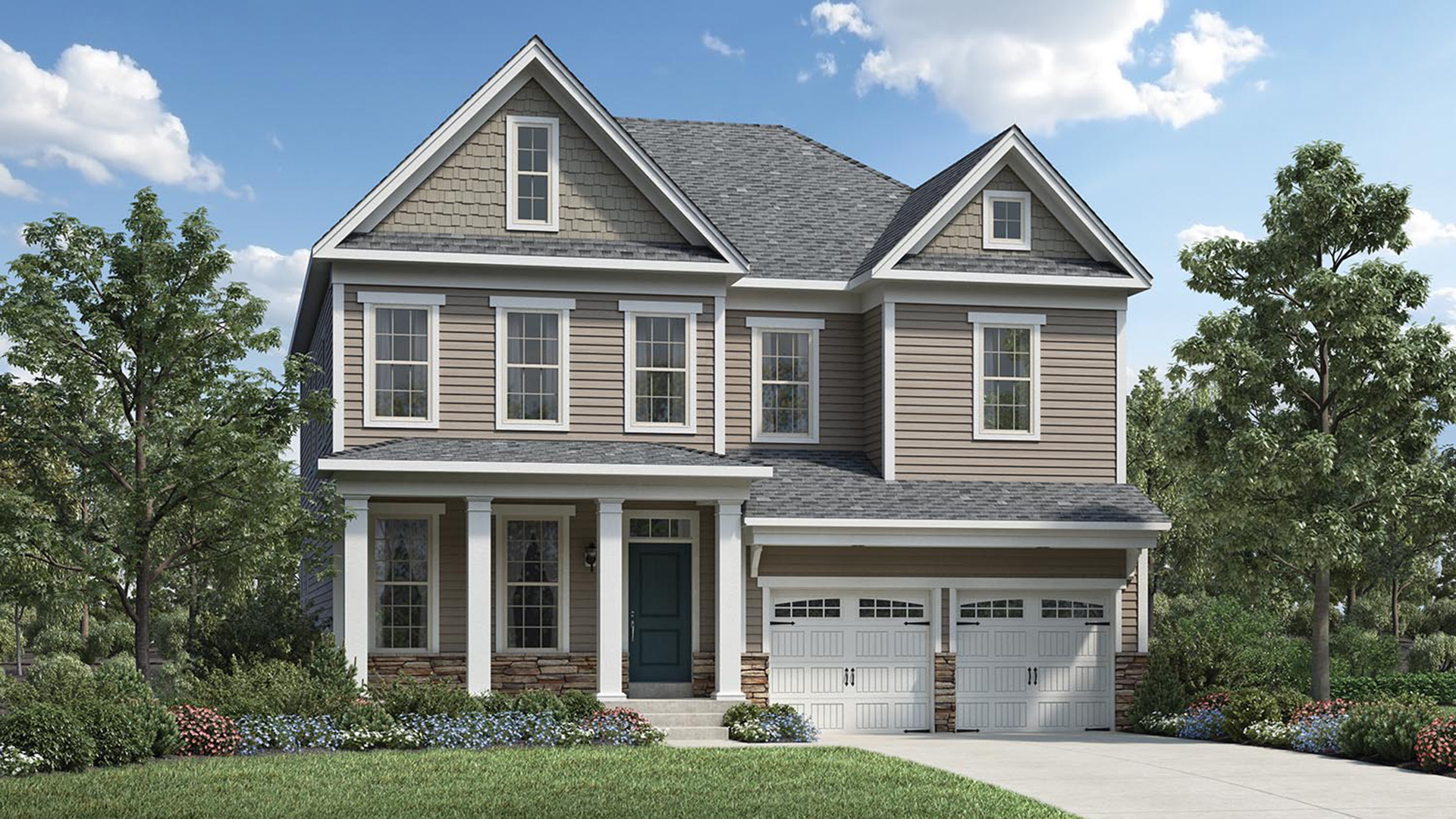 The Pines at Wake Crossing | The Egerton Home Design