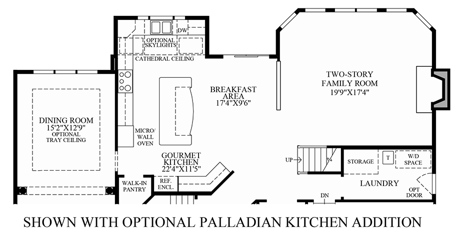 Glastonbury estates the elkton home design for Palladian style house plans