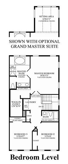 Ellicott - Bedroom Level