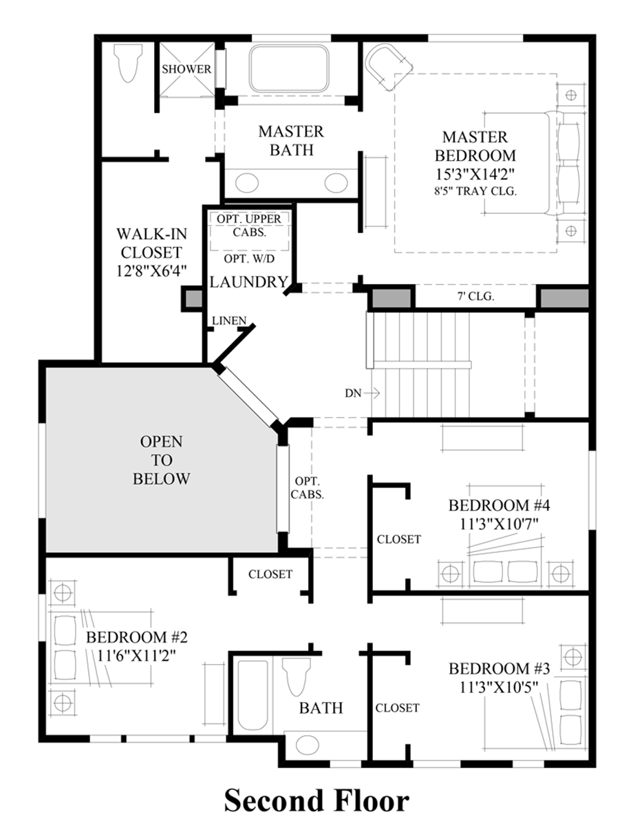 Ridgewood vistas the elliott with basement home design for Design your own basement floor plans