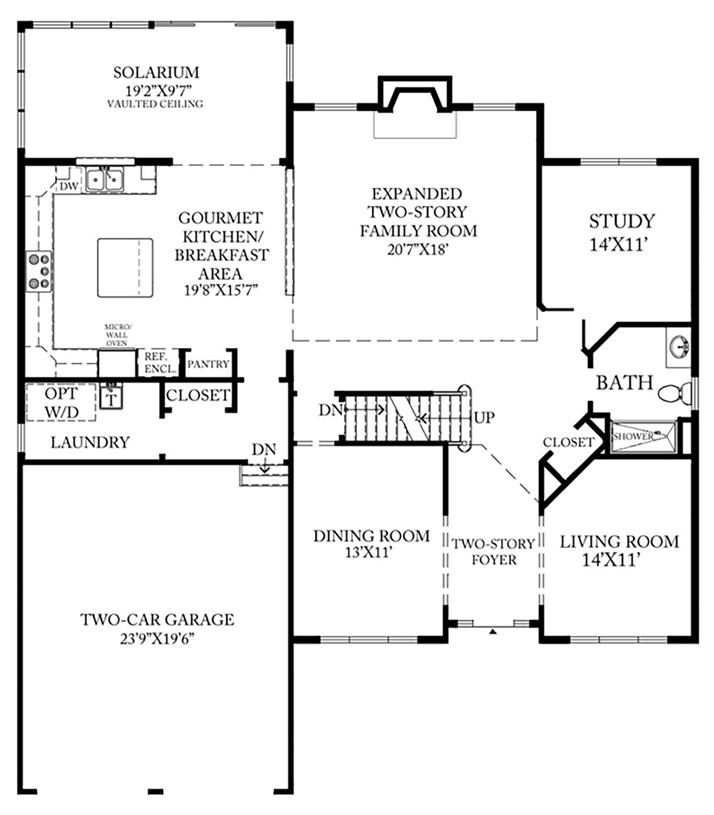 Ellsworth Carolina - 1st Floor