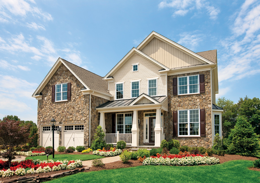 Toll Brothers Floor Plans Virginia: The Ellsworth II Home Design