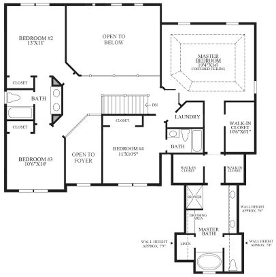 The woodlands at island lake of novi quick delivery home for Michigan home builders floor plans