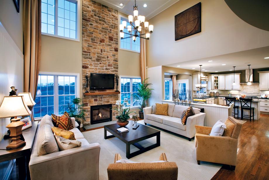 Monroe chase the ellsworth ii home design - Living room home decor fort langley ...