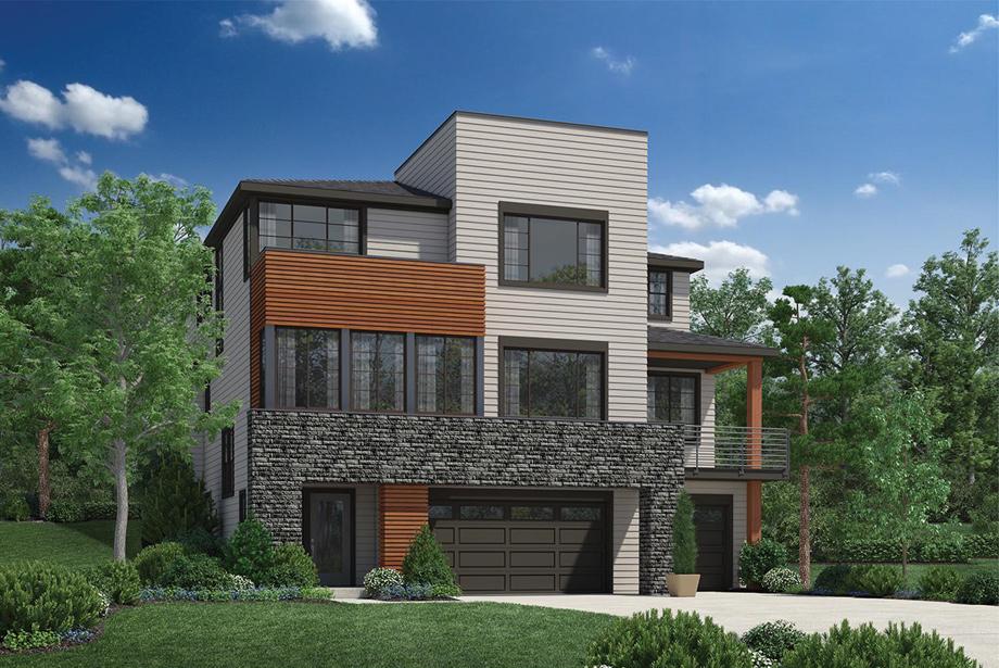 homes designs pictures. View Photos Talon Ridge  The Jefferson with Basement Home Design