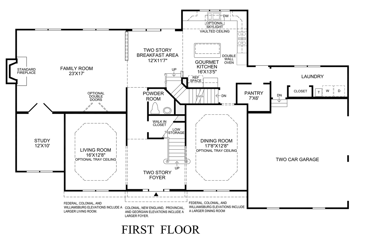 New england home floor plans home design and style for New floor plans