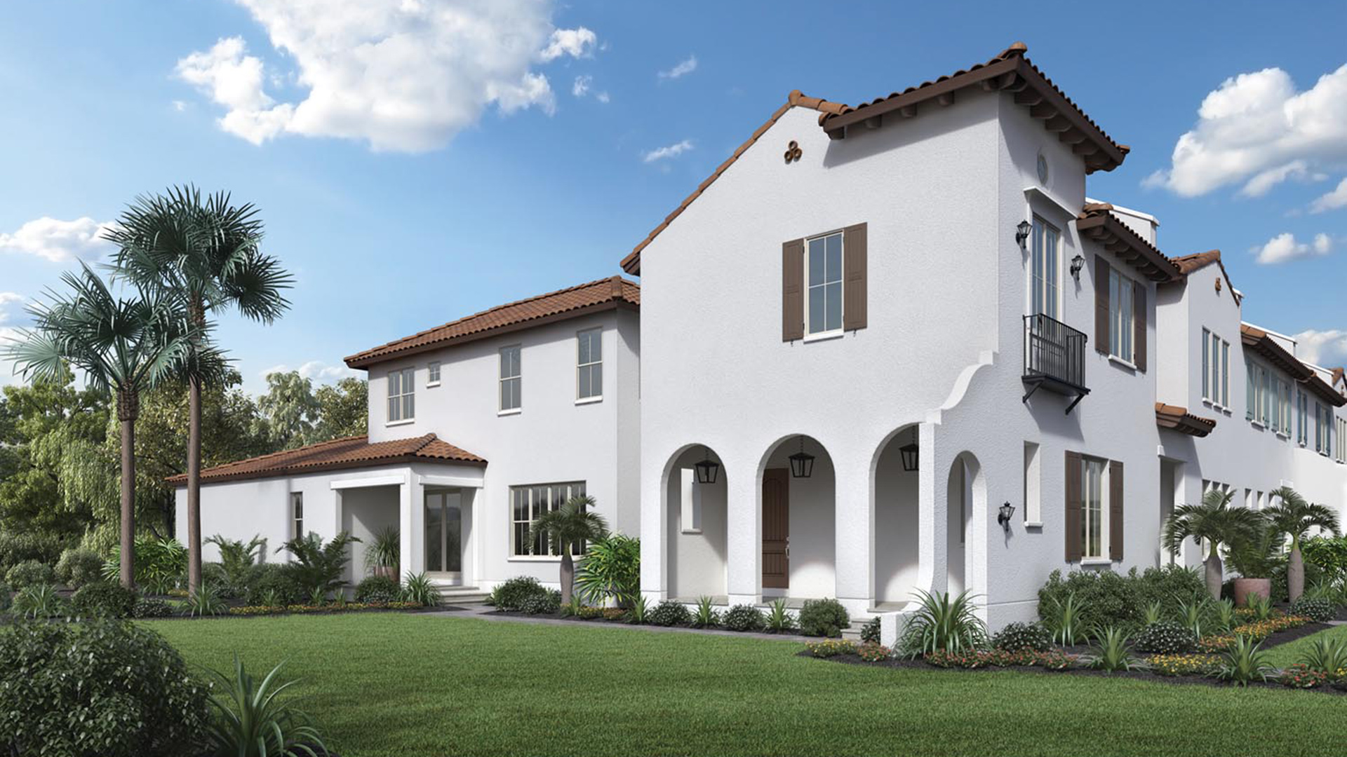 Lakeshore townhomes the enzo home design for Italianate homes for sale