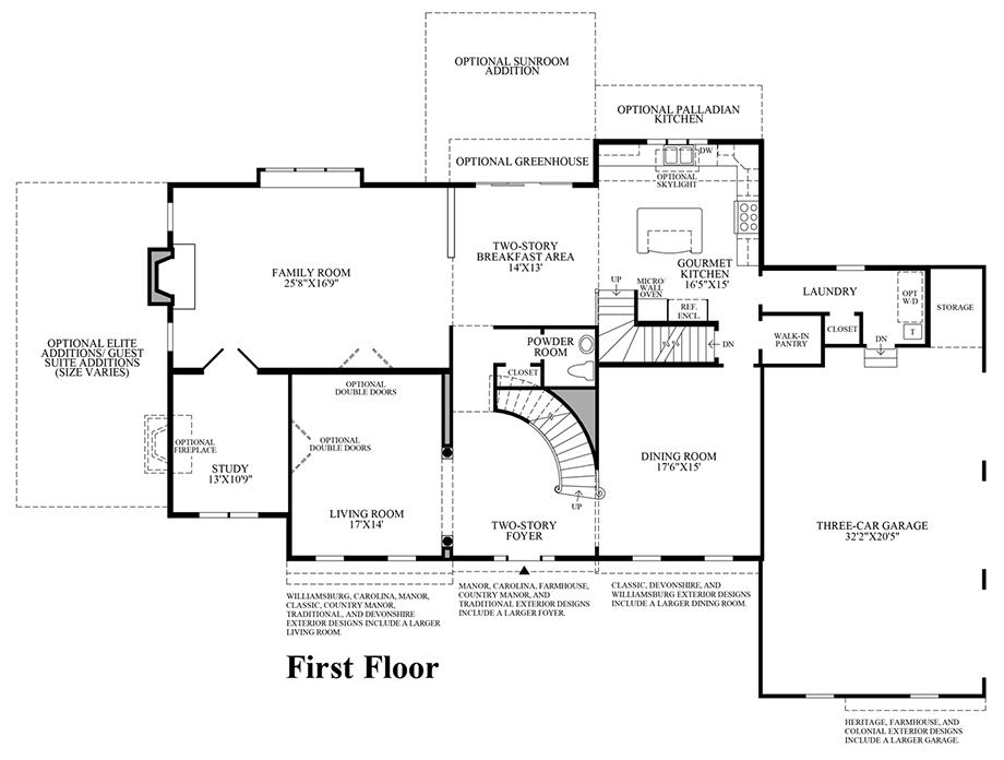 Dutchess Farm Estates The Essington Home Design