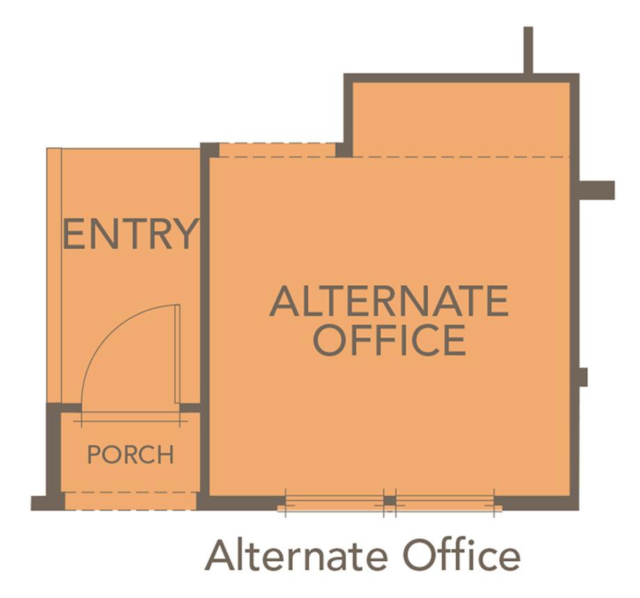 Optional Office Floor Plan
