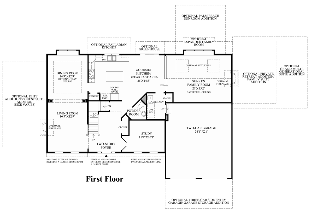 Toll Brothers Floor Plans Pennsylvania