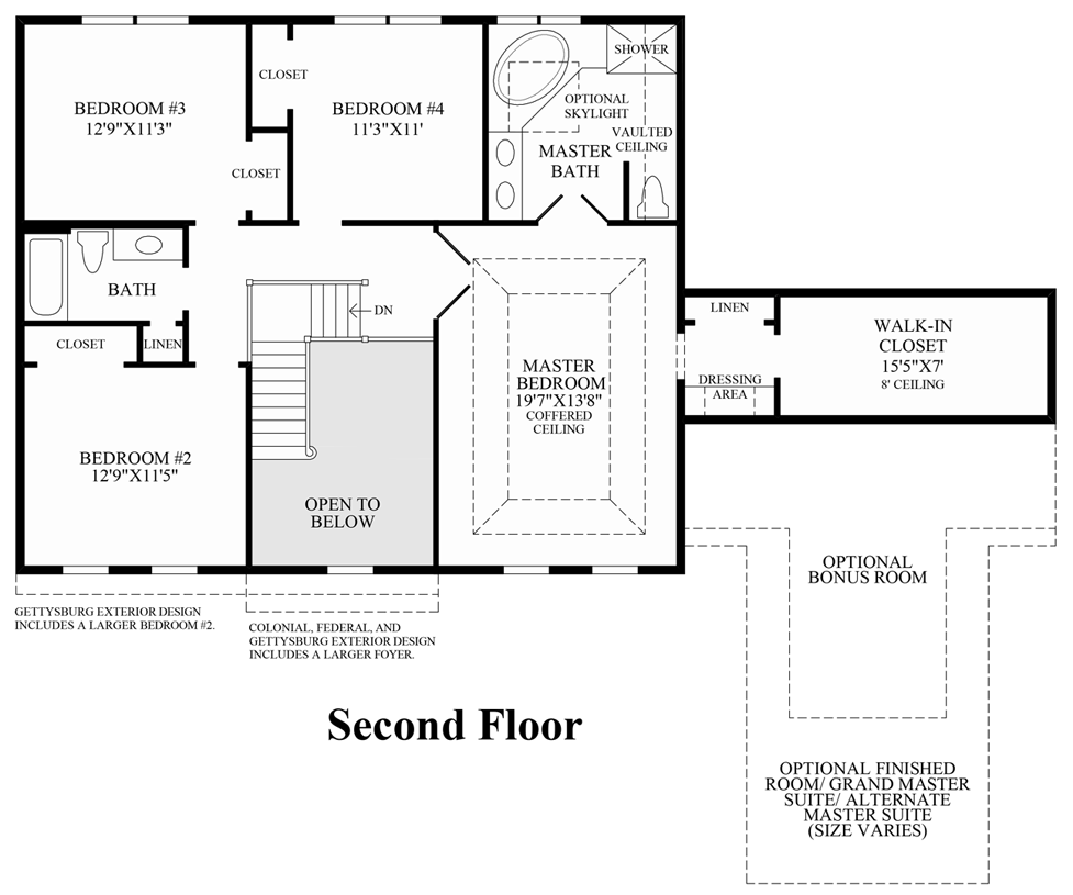Parkview at warrington the elkton home design for Parkview homes floor plans