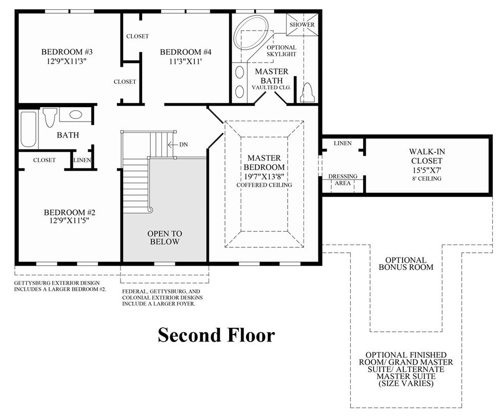100 Woodland Homes Floor Plans Breland Homes Floor