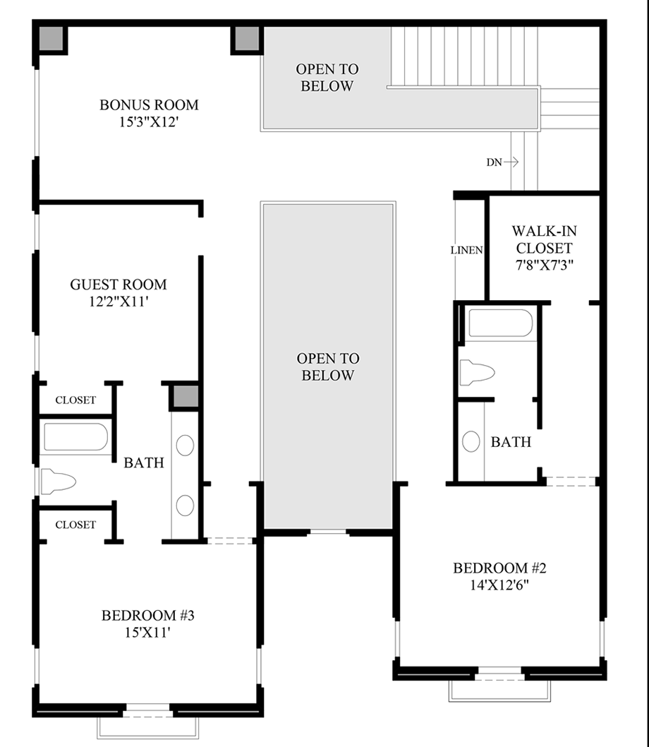 Optional Guest Room