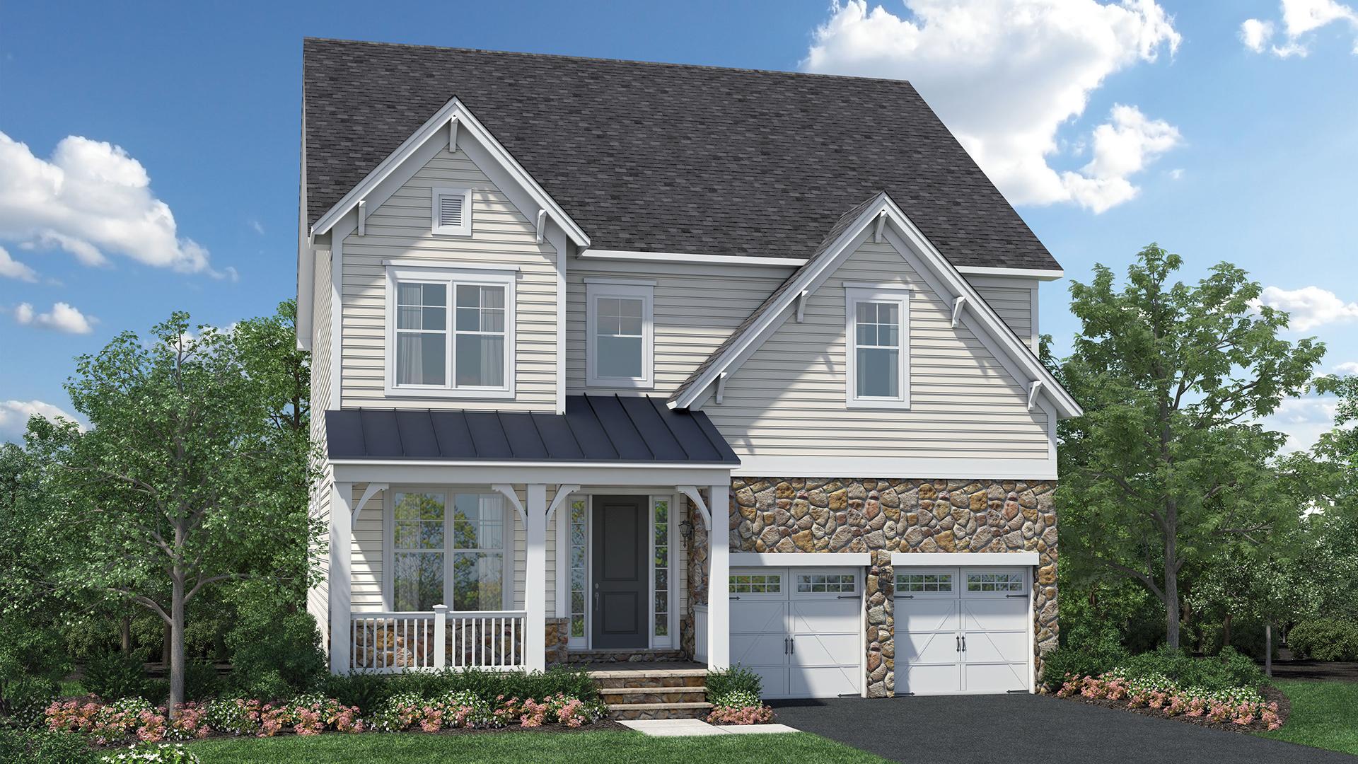Dominion Valley Country Club Carolinas The Fincastle Home Design