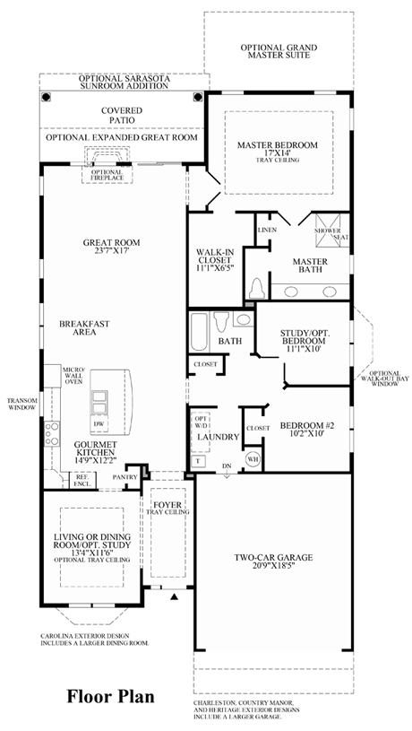 Finley - Floor Plan
