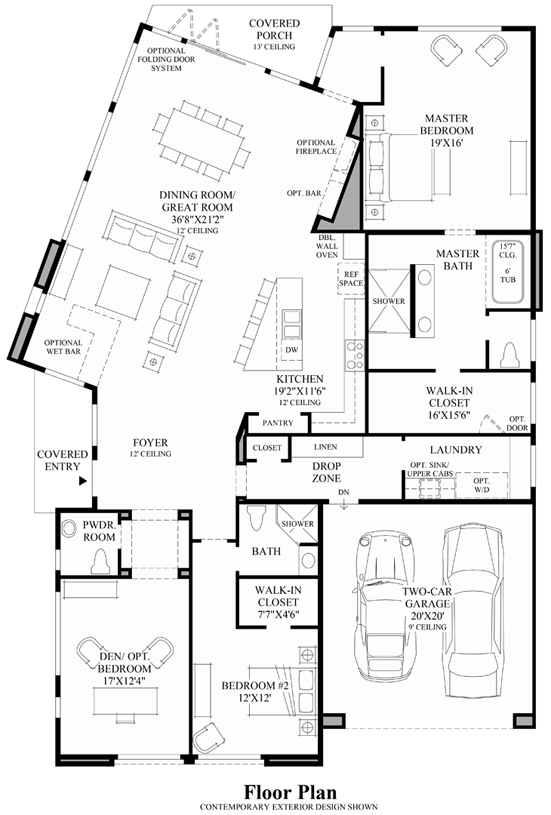 Floor Plans For Mid Century Modern Houses