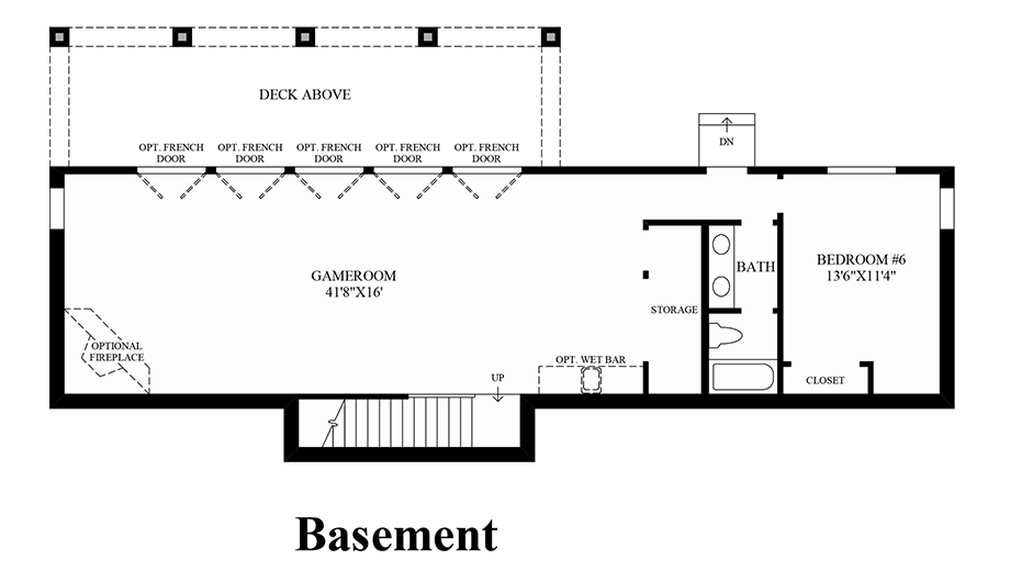 Norris canyon estates the folsom home design for Design your own basement floor plans
