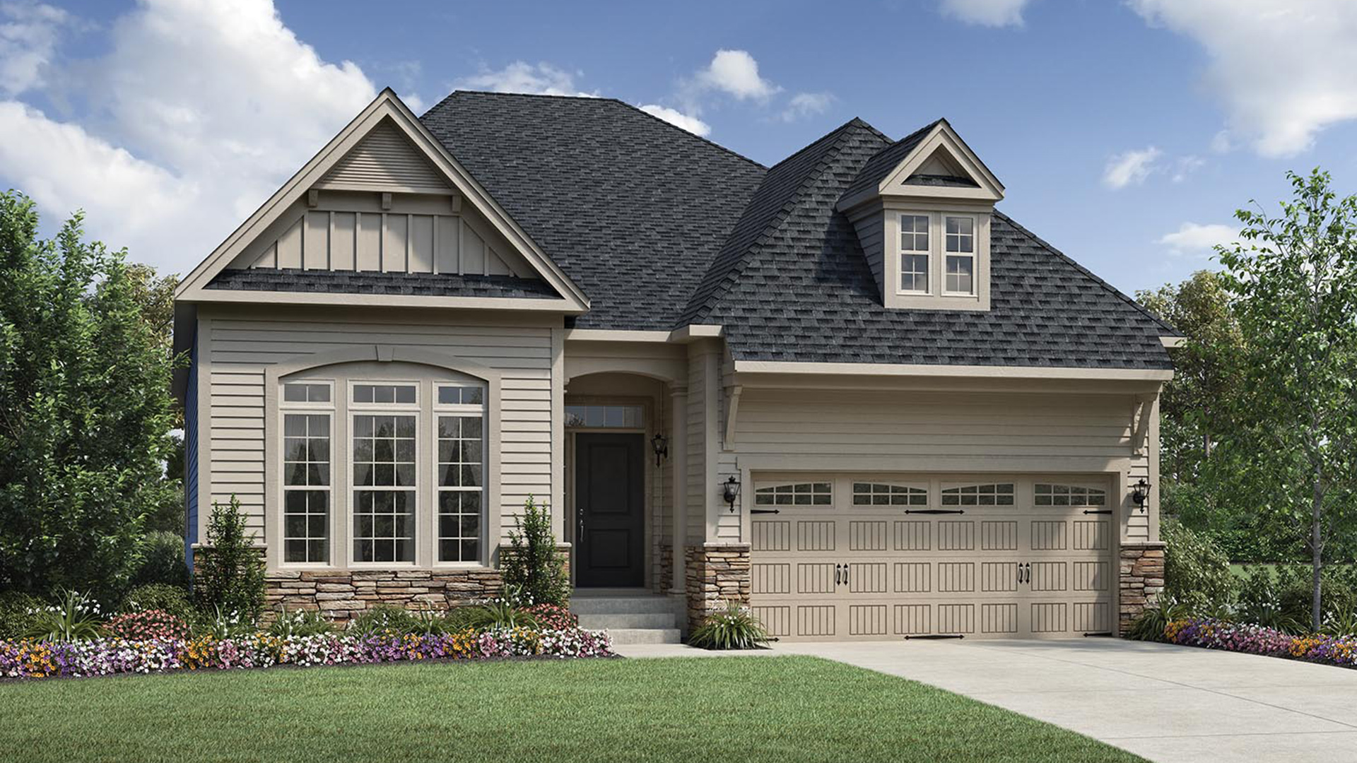 Wake Forest NC New Homes for Sale   Hasentree - Golf Villas Collection
